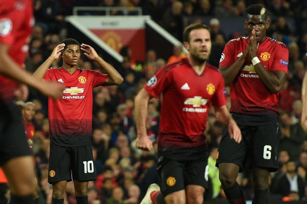 Skuat Manchester United (Foto AFP/OLI SCARFF)