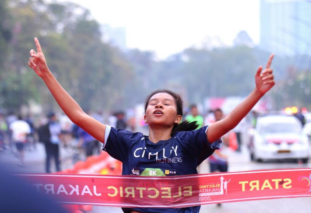 Electric Jakarta Marathon 2018 bertajuk Energi Optimisme diikuti 12 ribu peserta (Foto:Dok.PLN)
