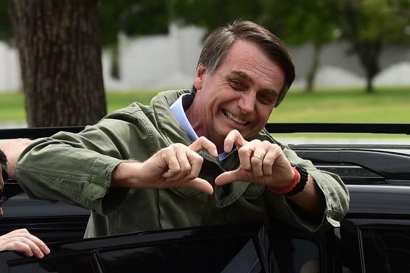 Jair Bolsonaro memenangkan Pilpres Brasil dari Fernando Haddad. (Foto: AFP).