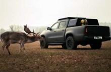 Mercedes-Benz X Class untuk Berburu