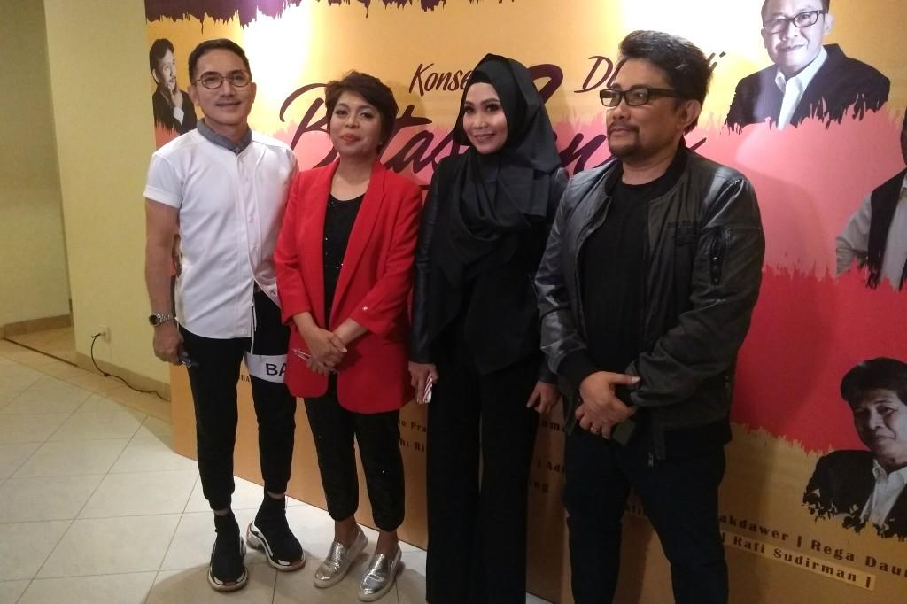 Elfa's Singers turut berpartisipasi dalam konser 40 tahun Chaseiro, di Balai Kartini, Minggu, 28 Oktober 2018 (Foto: Medcom.id/Purba Wirastama)