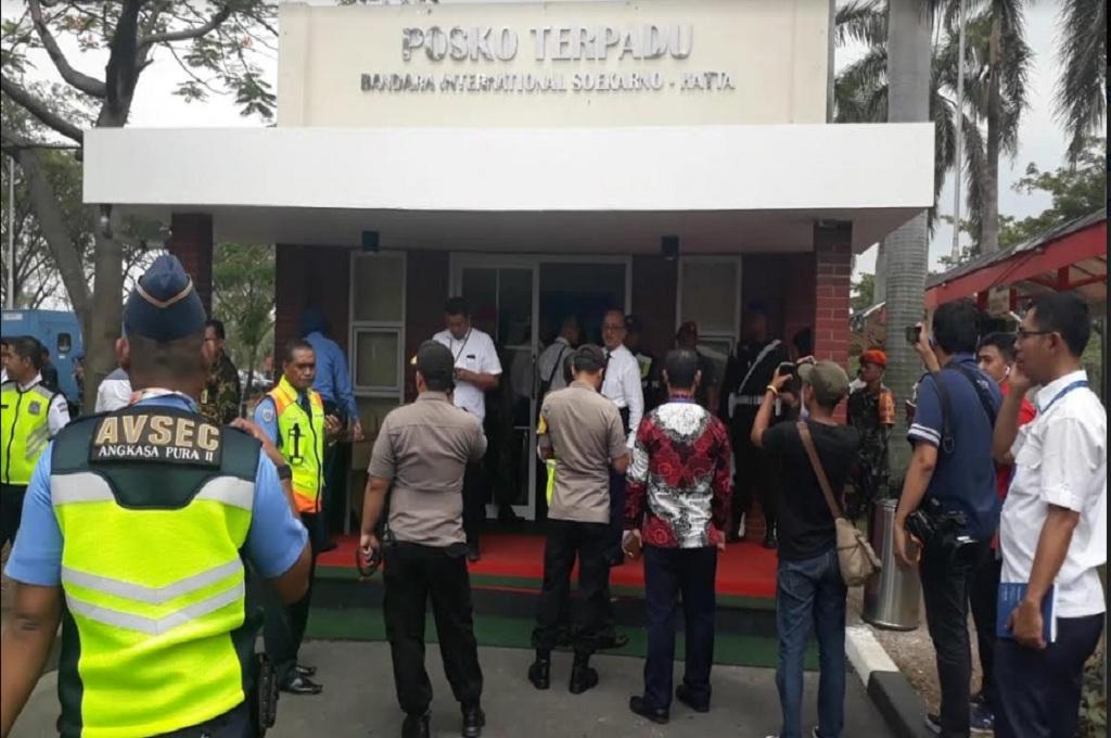 Suasana di Posko Terpadu Bandara Soekarno-Hatta yang menjadi pusat informasi terkini evakuasi korban Pesawat Lion Air jatuh di perairan Karawang, Medcom.id - Hendrik