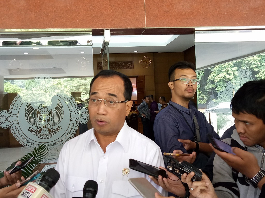 Menteri Perhubungan Budi Karya Sumadi - Medcom.id/Siti Yona Hukmana.