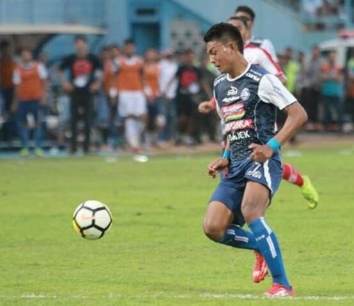 Striker Arema FC Dedik Setiawan. (Foto Arema FC)