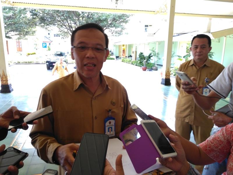 Kepala Dinas Ketenagakerjaan dan Transmigrasi DIY Andung Prihadi. Medcom/Patricia VIcka.