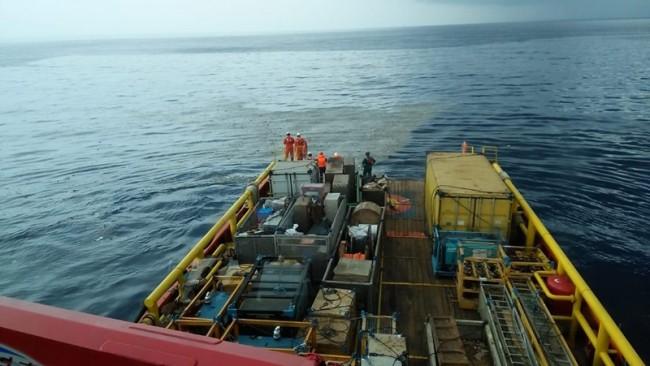 The government has deployed rescuers to the crash site (Photo: Antara/HO-Pertamina)