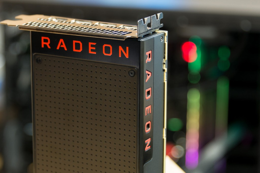 Kartu grafis AMD Radeon.