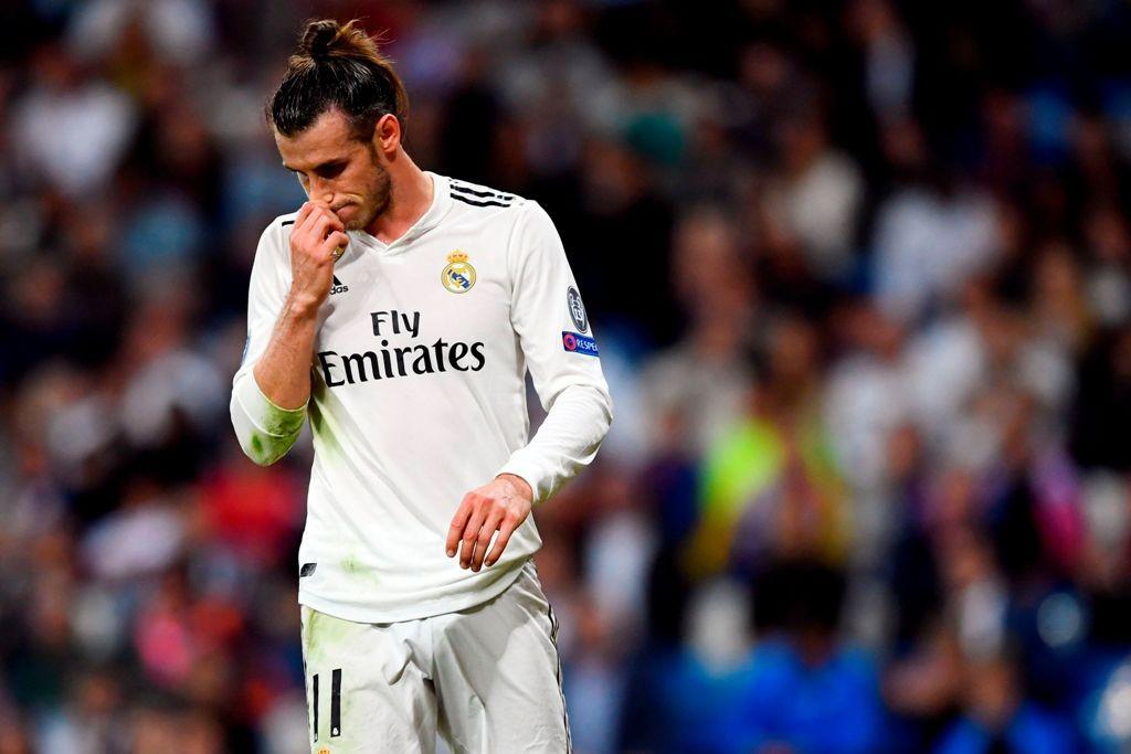 Penyerang Real Madrid, Gareth Bale (AFP/Gabriel Bouys)