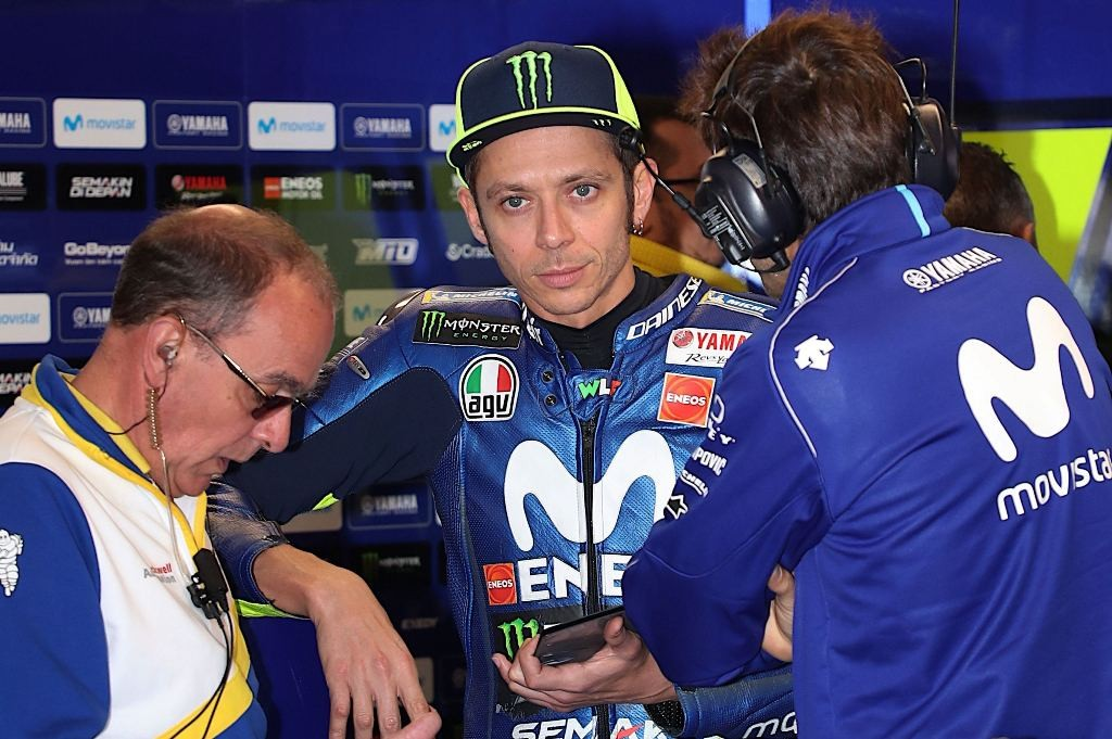 Valentino Rossi (Foto: Glenn Nicholls / AFP)