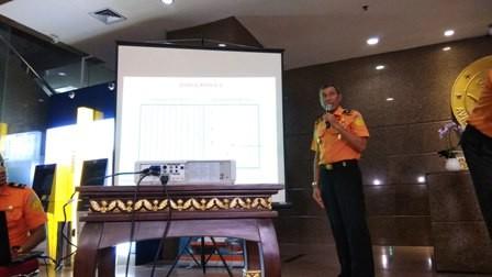 Direktur Operasi Basarnas Brigadir Jenderal Marinir Bambang Suryo Aji. Foto: Medcom.id/Fachri Audhia Hafiez