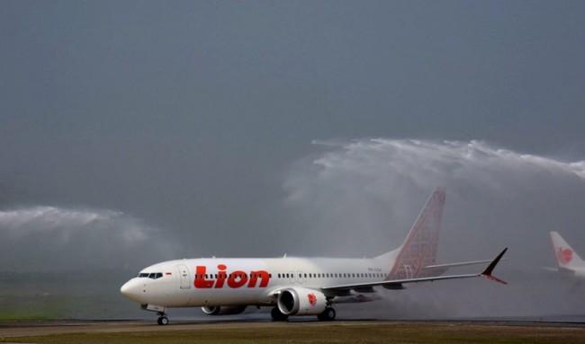 Pesawat Lion Air Boeing 737 Max-8 dengan registrasi PK-LQJ. Foto: Lion Air Group/Boeing.