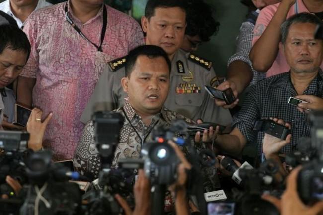 Direktur Reserse Kriminal Umum Polda Jawa Barat Komisaris Besar Pol Umar Surya Fana. MI/ Arya Manggala