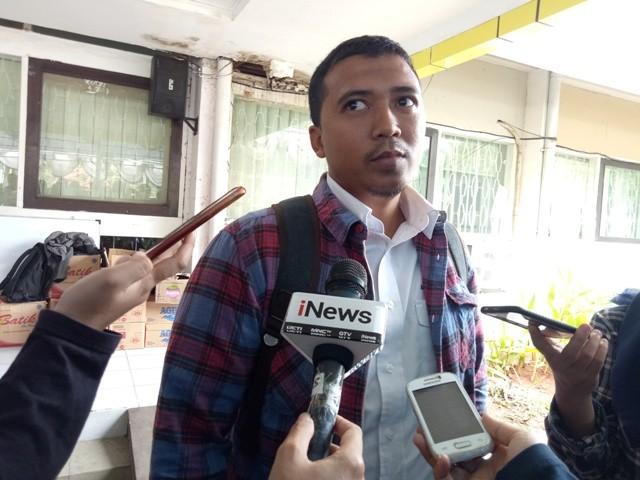 Keluarga korban  jatuhnya Lion Air JT601 Comy Elyas--Medcom.id/Siti Yona Hukmana.