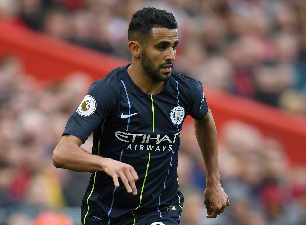 Riyad Mahrez. (Paul ELLIS / AFP)