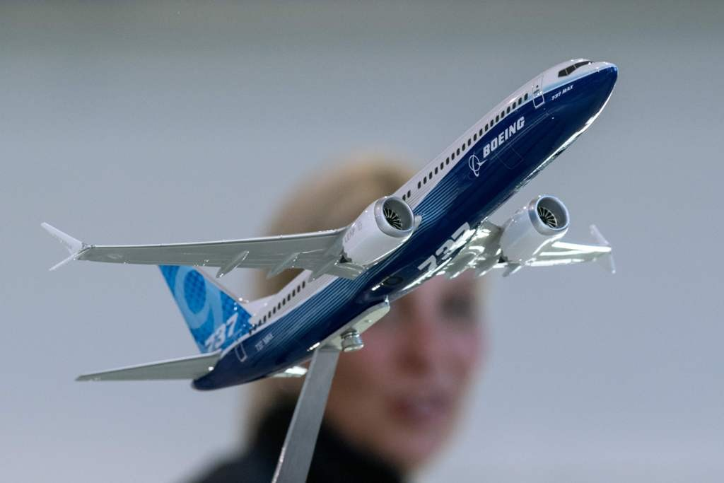 Saham Boeing anjlok menyusul jatuhnya Lion Air. (FOTO: Ilustrasi AFP)