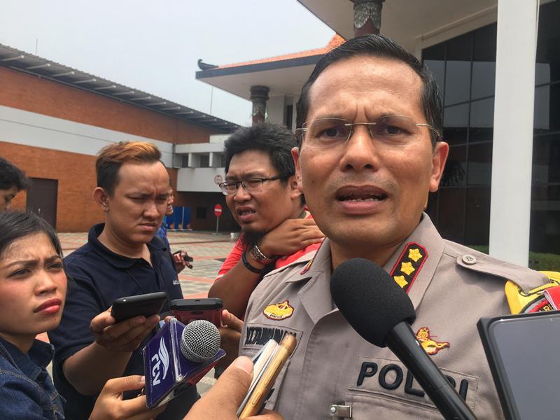Kapolres Bandara Soekarno-Hatta Kombes Victor Togi Tambunan di Bandara Internasional Soekarno-Hatta, Tangerang, Banten, Selasa, 30 Oktober 2018. Medcom.id/ Farhan Dwitama.