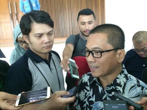 Yandri Susanto di Kompleks Parlemen, Senayan, Jakarta Pusat, Kamis 27 Juli 2017--Medcom.id/Husen Miftahudin