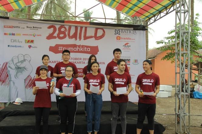 Para sukarelawan yang berpartisipasi berasal dari beragam latar belakang (Foto:Dok)