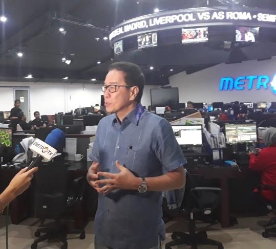 Presiden Direktur PT Astra Internasional Tbk Prijono Sugiarto. Medcom/Arif.