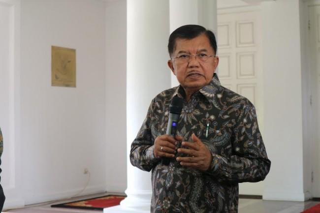 Wapres Jusuf Kalla. Foto: Medcom.id/Dheri Agriesta