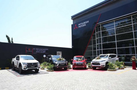 Mitsubishi Invasi Probolinggo dengan Identitas Visual Baru