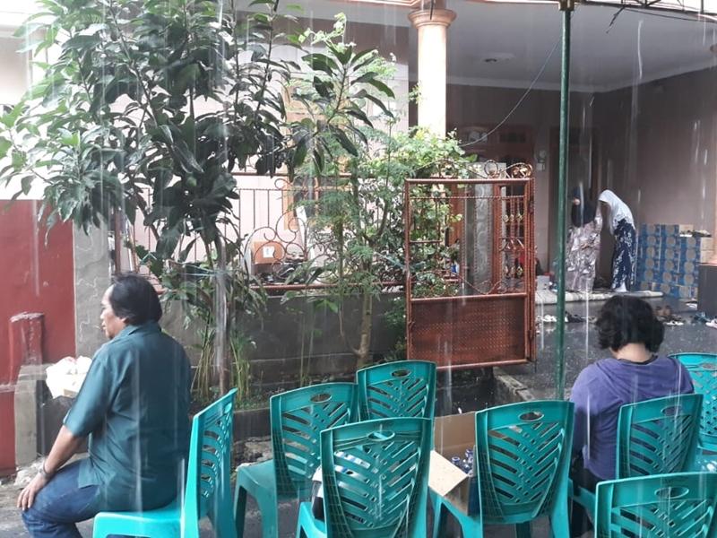 Suasana rumah korban jatuhnya pesawat Lion Air JT610 di Jalan Bougenvile 2, RT03 RW01, Bencongan Indah, Kelapa Dua, Kota Tangerang. Medcom.id/Hendrik Simorangkir