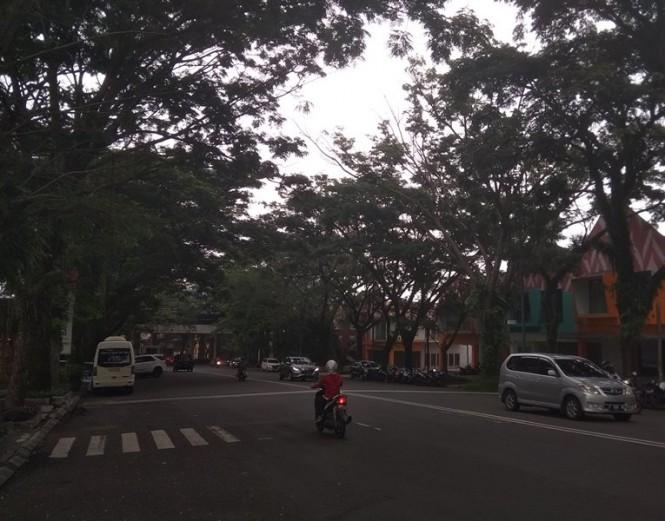Suasana Jalan di Bogor Nirwana Residen, Kelurahan Mulyaharja, Kecamatan Bogor Selatan, Kota Bogor, Jawa Barat, Selasa, 30 Oktober 2018. Medcom.id/ Rizky Dewantara.