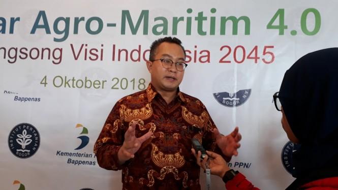 Rektor IPB, Arif Satria, MI/Dede Susianti.