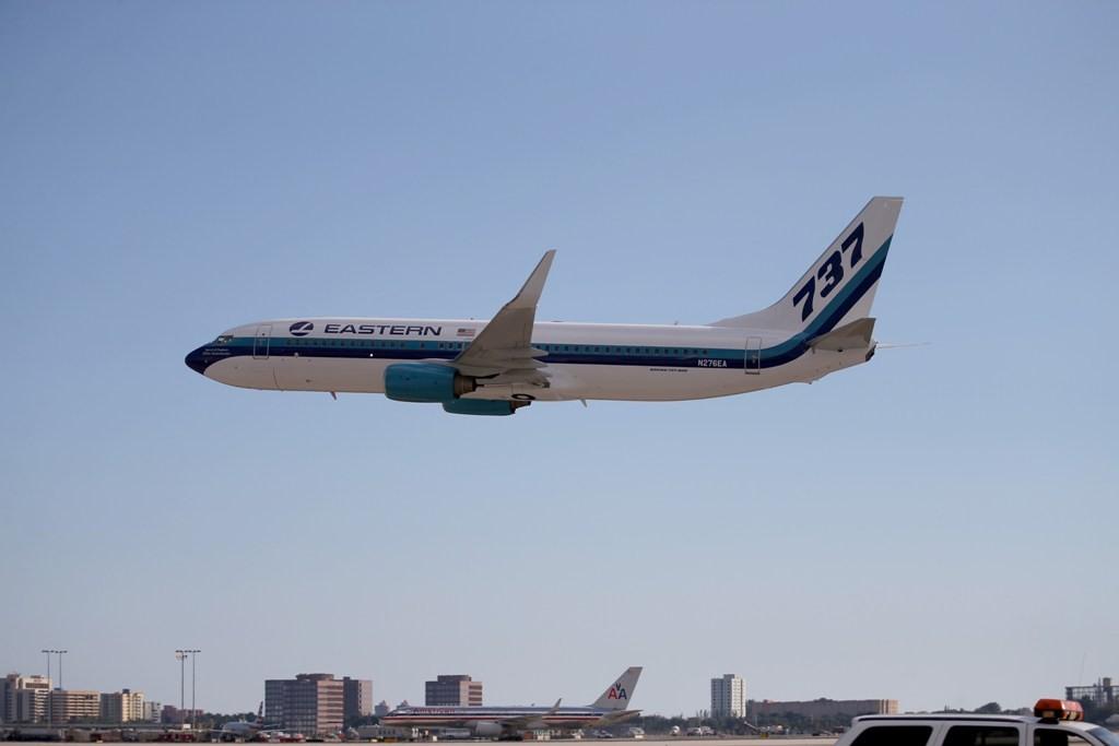 Ilustrasi Boeing. (FOTO: AFP)