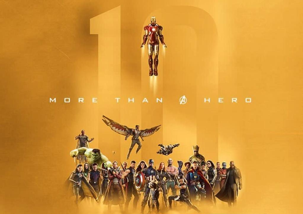 Marvel Studios: The First Ten Years Movie Marathon (foto: dok. disney indonesia)
