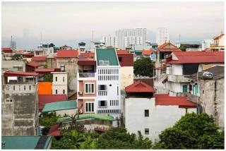 Rumah Bulan di Kepadatan Hanoi