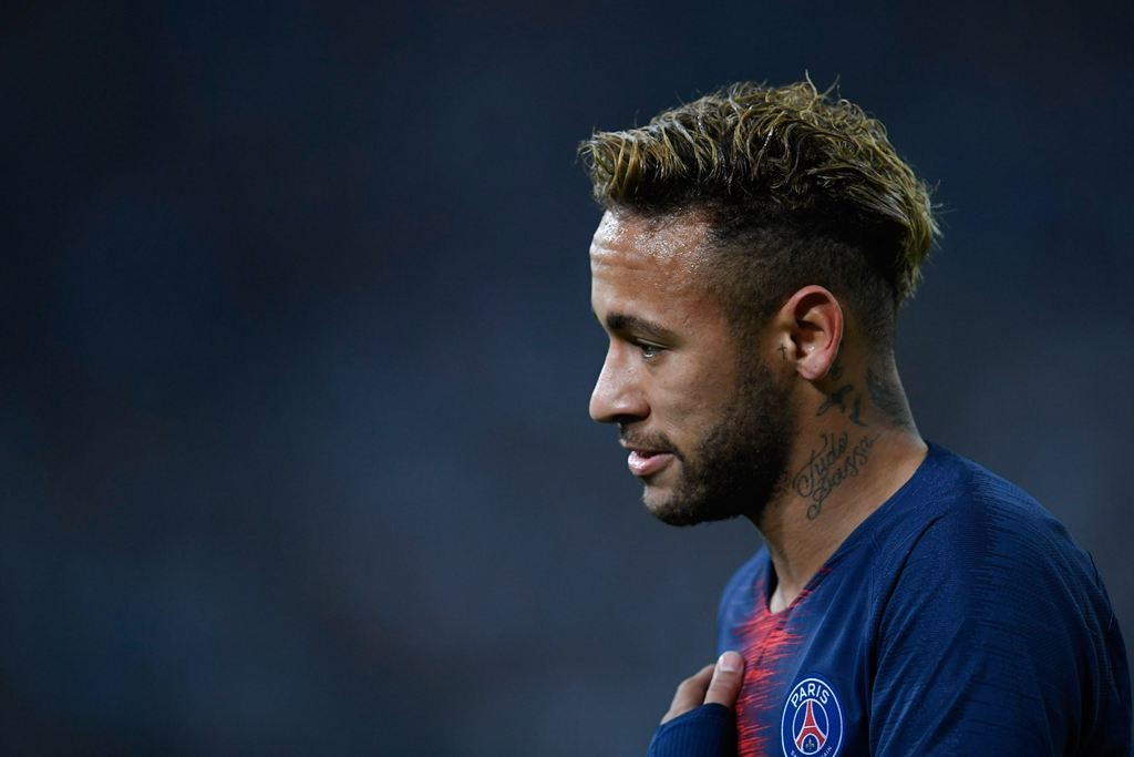 Penyerang PSG, Neymar da Silva (AFP/Christophe Simon)