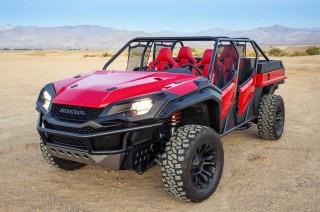Honda Open Air Vehicle Concept Mejeng di SEMA 2018
