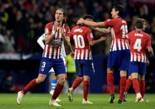 Atletico Madrid Hanya Menang Tipis atas Tim Divisi Empat