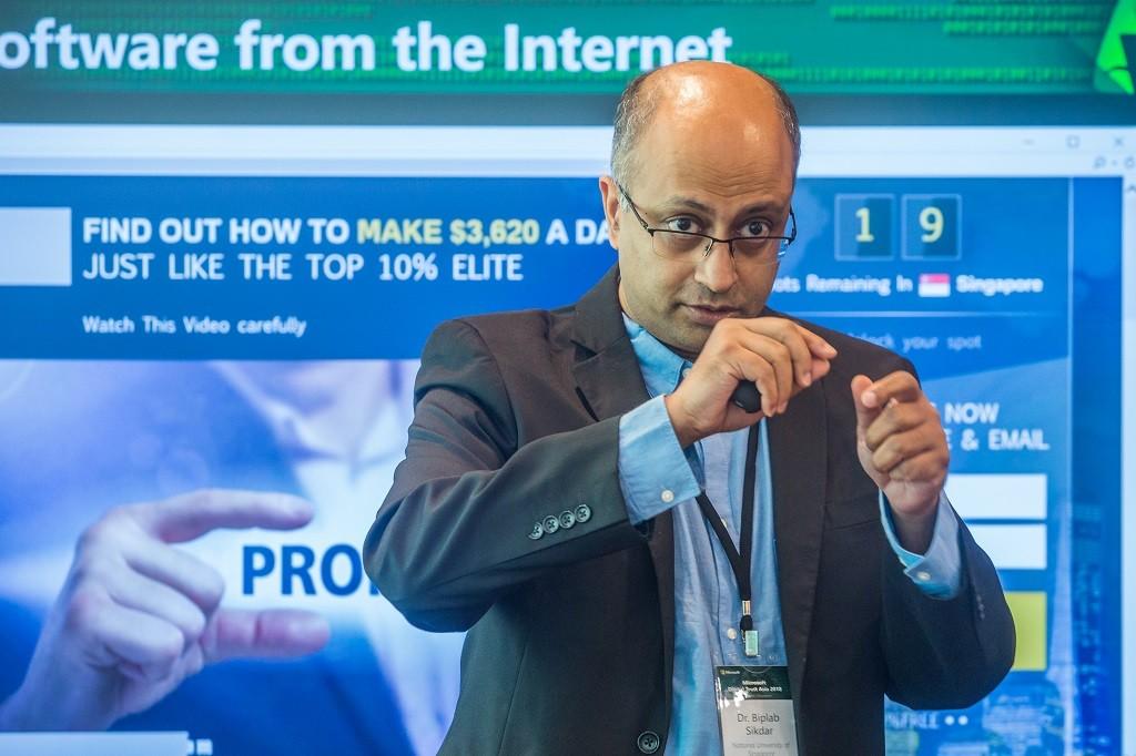 Associate Professor Biplab Sikdar, Department of Electrical & Computer Engineering NUS.