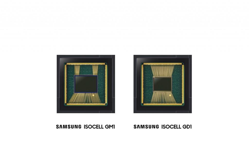 Dua sensor kamera Samsung terbaru dari seri ISOCELL.