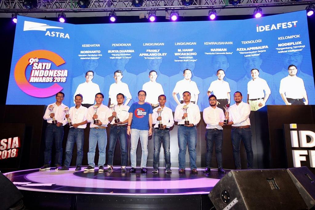 Nodeflux menangkan 9th SATU Indonesia Award