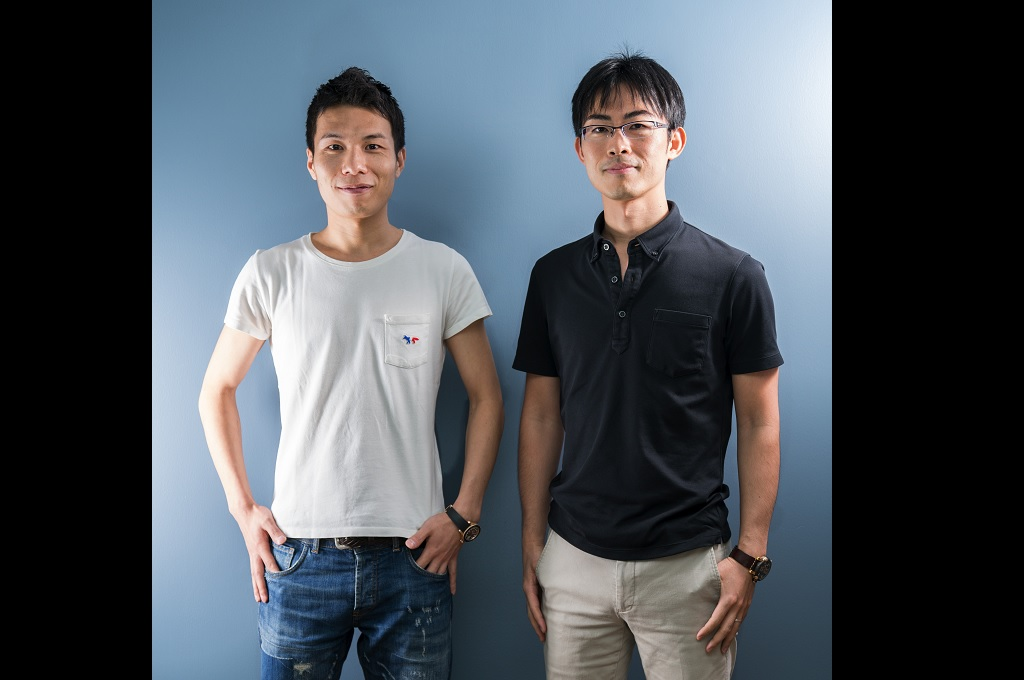 CEO and co-founder Kosuke Sogo dan COO and co-founder AnyMind Group Otohiko Kozutsumi