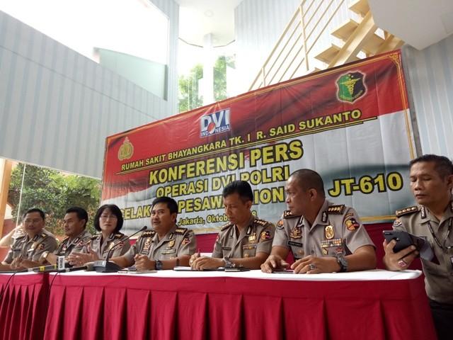 Kepala Rumah Sakit Polri Kramat Jati, Jakarta Timur Kombes Musyafak (tengah)--Medcom.id/Siti Yona Hukmana.