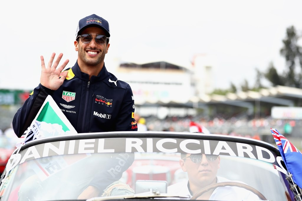 Daniel Ricciardo. (Mark Thompson/Getty Images/AFP)