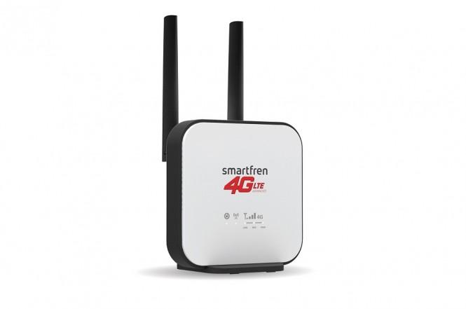 Smartfren mengumumkan produk terbaru bertajuk Wi-Box 4G untuk internet rumah.
