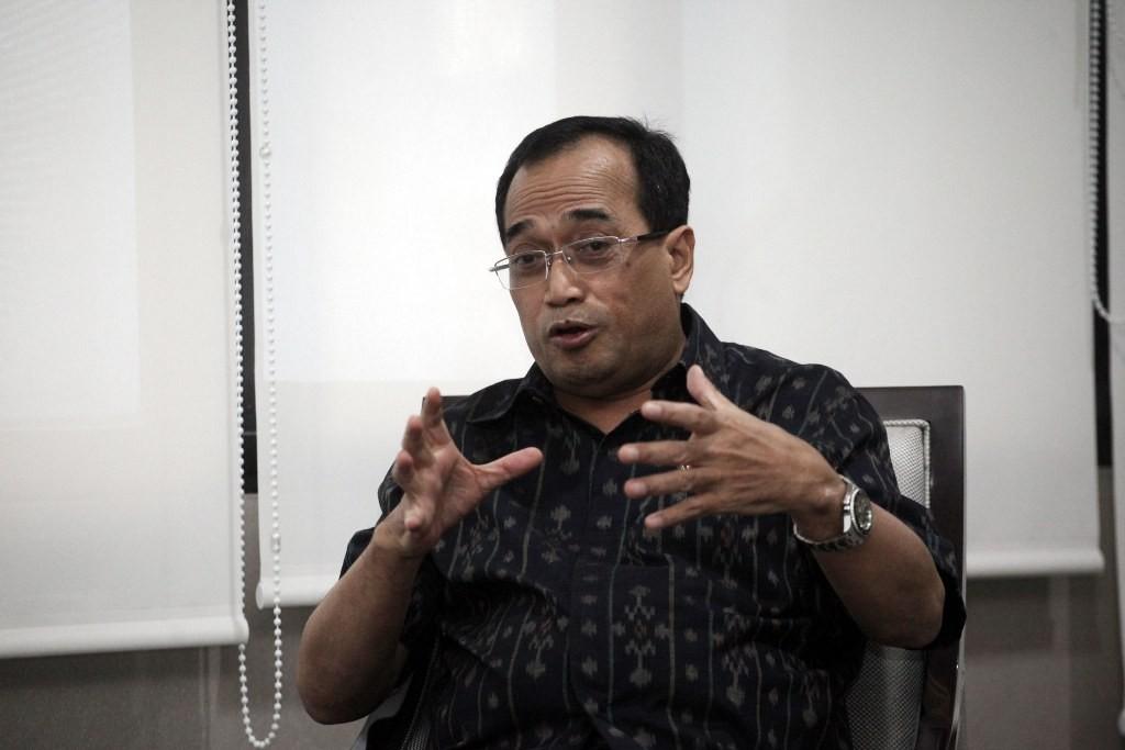 Menteri Perhubungan Budi Karya Sumadi (MI/ARYA MANGGALA)