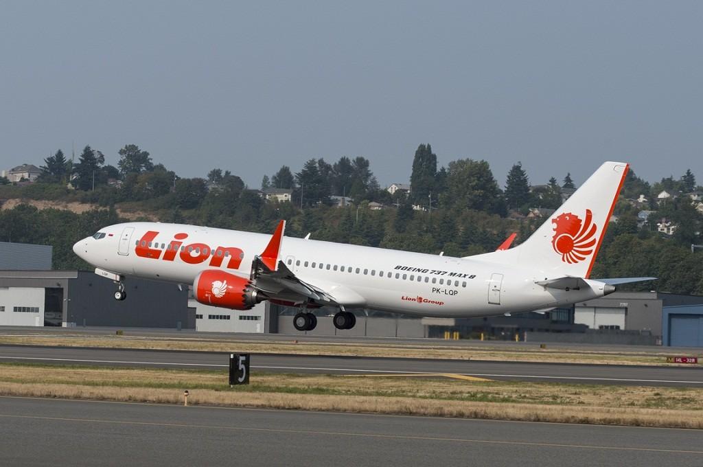 Pesawat Lion Air Boeing 737 Max 8, sumber foto: Lion Air Group