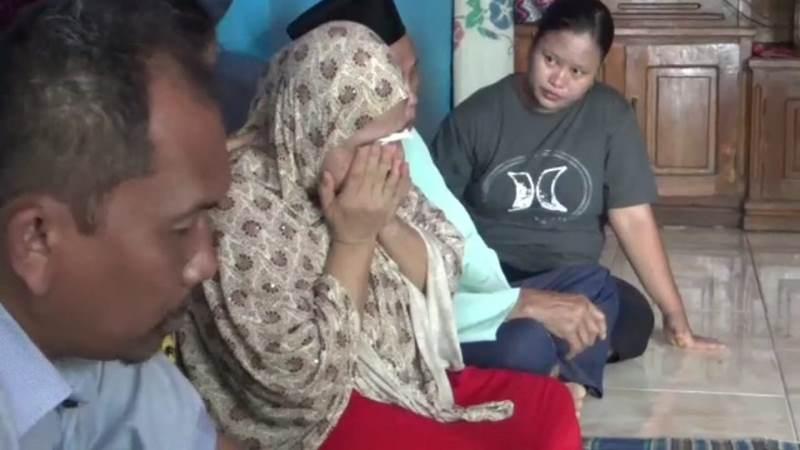 Keluarga Tuti Tursilawati di Majalengka, Jawa Barat, Rabu, 31 Oktober 2018. Istimewa.