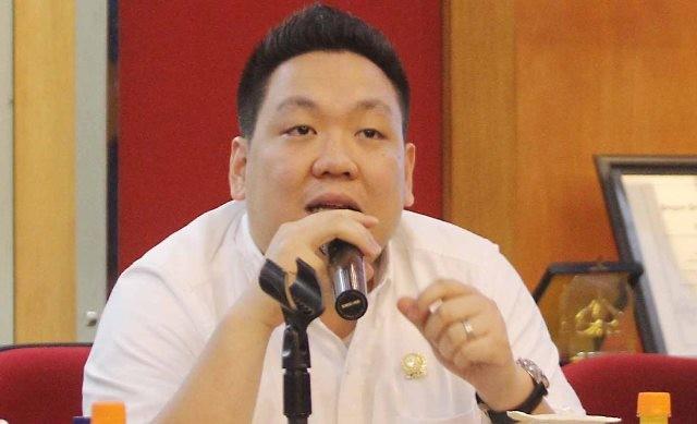 Politikus PDI Perjuangan Charles Honoris/MI/Angga Yuniar