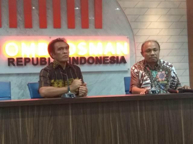Asisten Madya Ombudsman RI Dominikus Dalu (kanan pembaca)/Medcom.id/Krispen