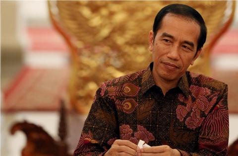 Presiden Joko Widodo (MI/Panca Syurkani).