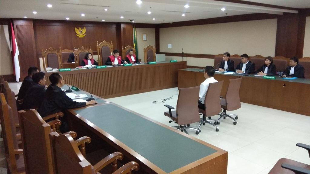Terdakwa kasus suap di Bakamla Fayakhun Andriadi - Medcom.id/Damar Iradat.