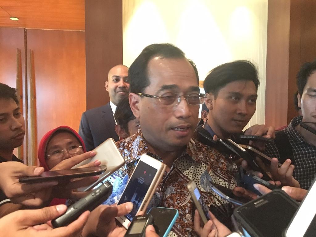 Menteri Perhubungan Budi Karya. (FOTO: Medcom.id/Sonya)