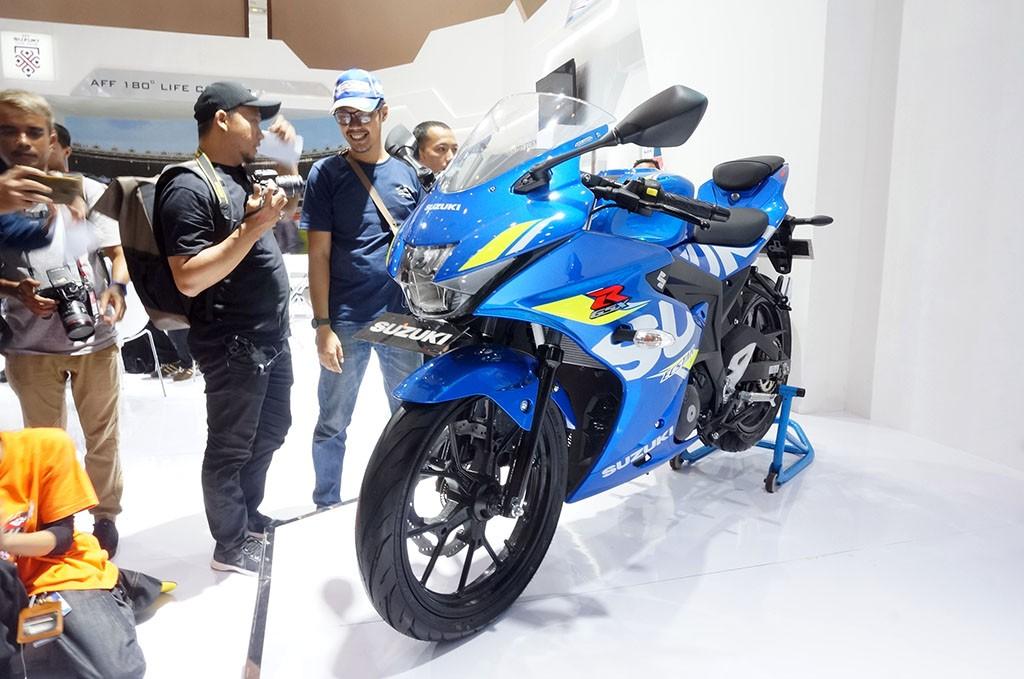 Suzuki GSX-R150 dengan ABS. Medcom.id/Ekawan Raharja